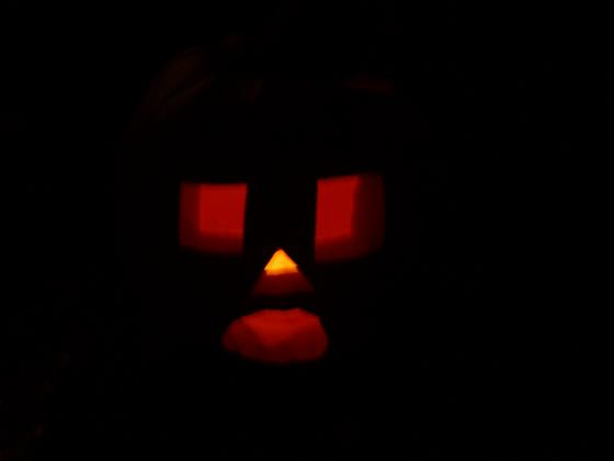 The Pumpkin at Night