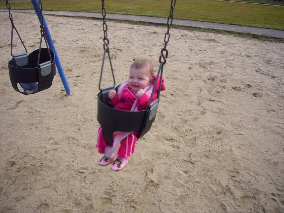 Lillie on the Swing