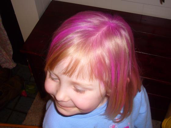 Sophie's Pink Hair