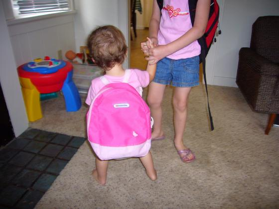 Lillie's backpack