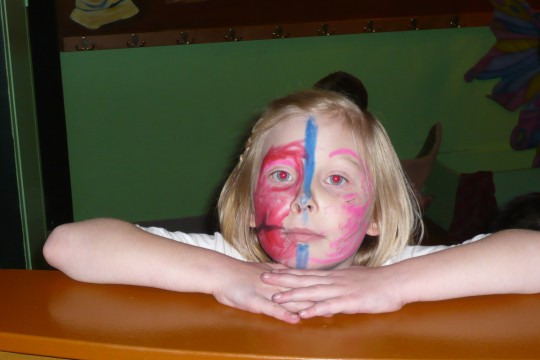 Sophie's face painting