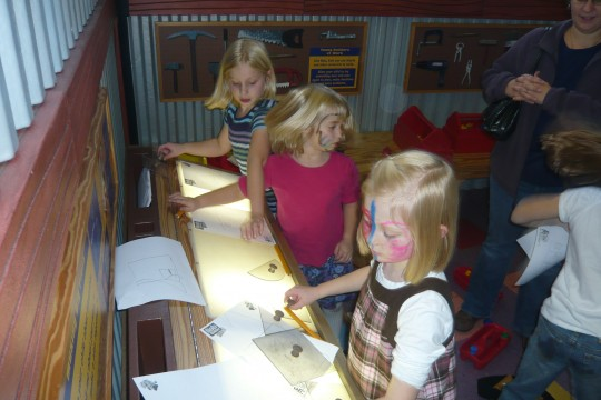 """The current attraction at the Children's Museum is """"Bob the Builder."""""""