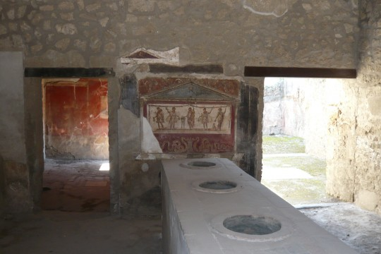 A pompeii shop