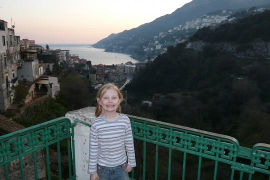Sophie in Vietri