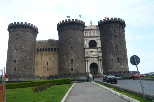 Castle Della'ovo (perhaps spelled differently, I really don't remember)