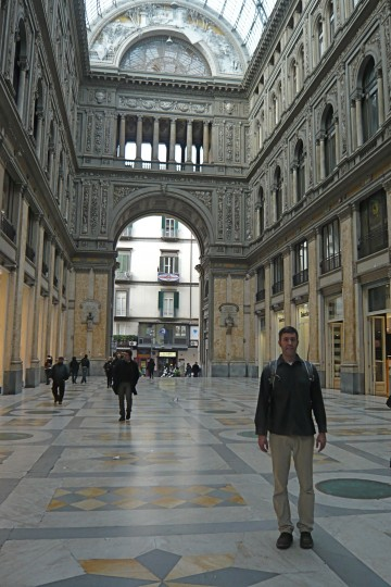 A cool galleria we saw
