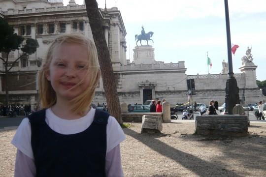 Sophie in Rome